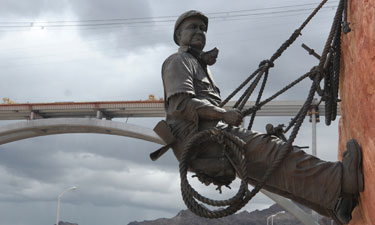 Hoover Dam Memorial & bridge