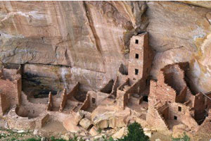 Indian Pueblo ruin