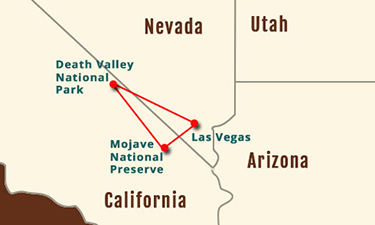 Death Valley, Mojave National Preserve 2-Day Experience