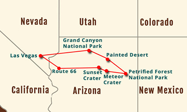 Grand Canyon - Painted Desert 5-7 Day Experience