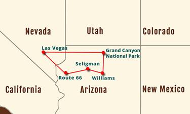 GR Canyon Route 66 Las Vegas Private Tours