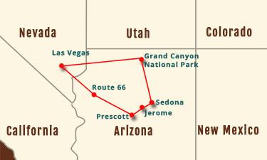 Grand Canyon-Sedona 5-7 Day Experience