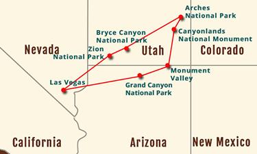 Utah Circle Tour