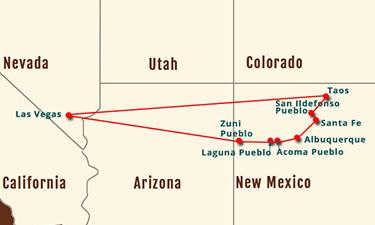 Pueblos of New Mexico 8-10 Day Experience