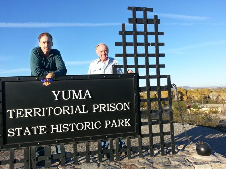 Paul & Art at Yuma Territorial Prison